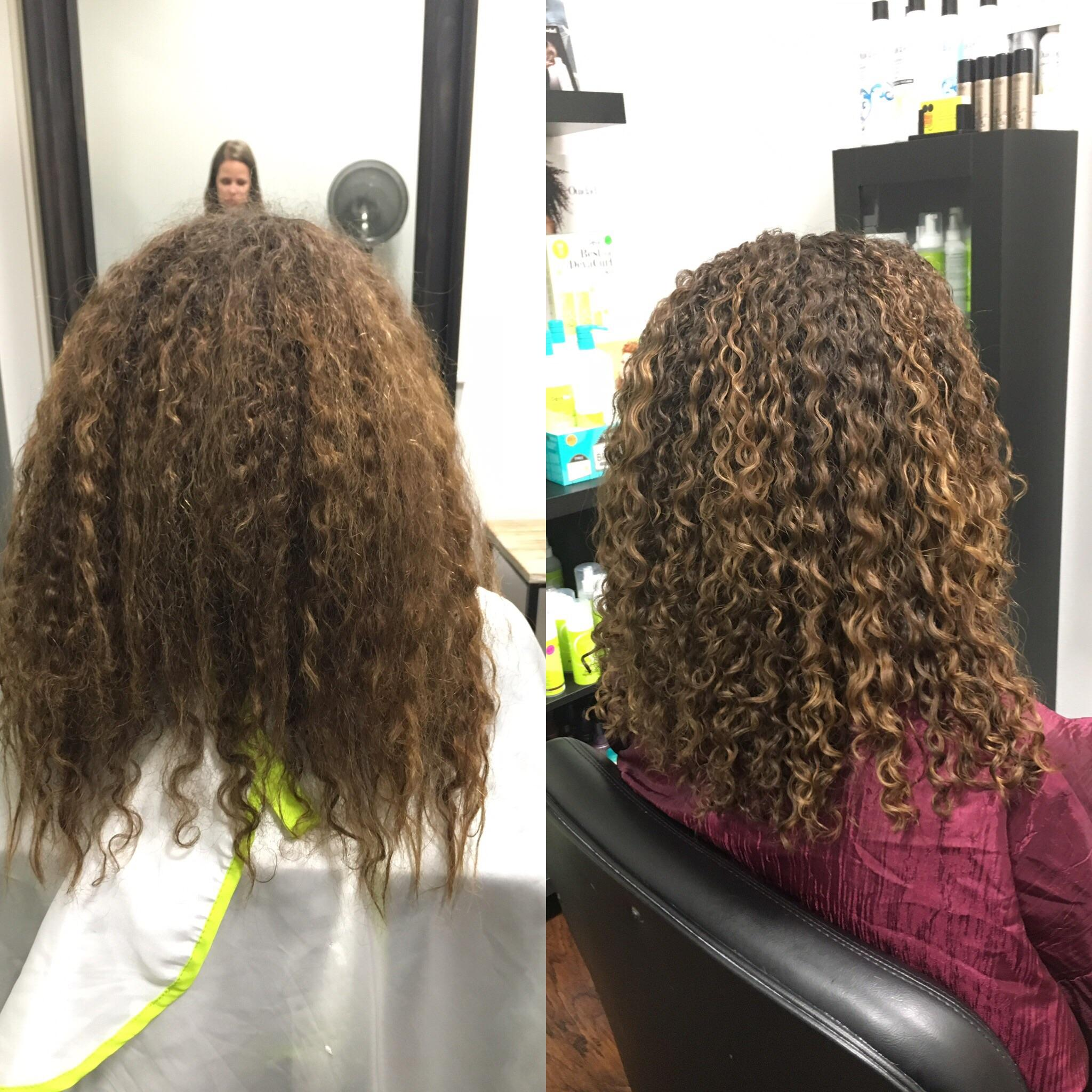 The Immediate Effects Of Deva Curl I Am Still So Blown
