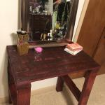 Makeup Vanity Out Of Pallets Bathroom All In One