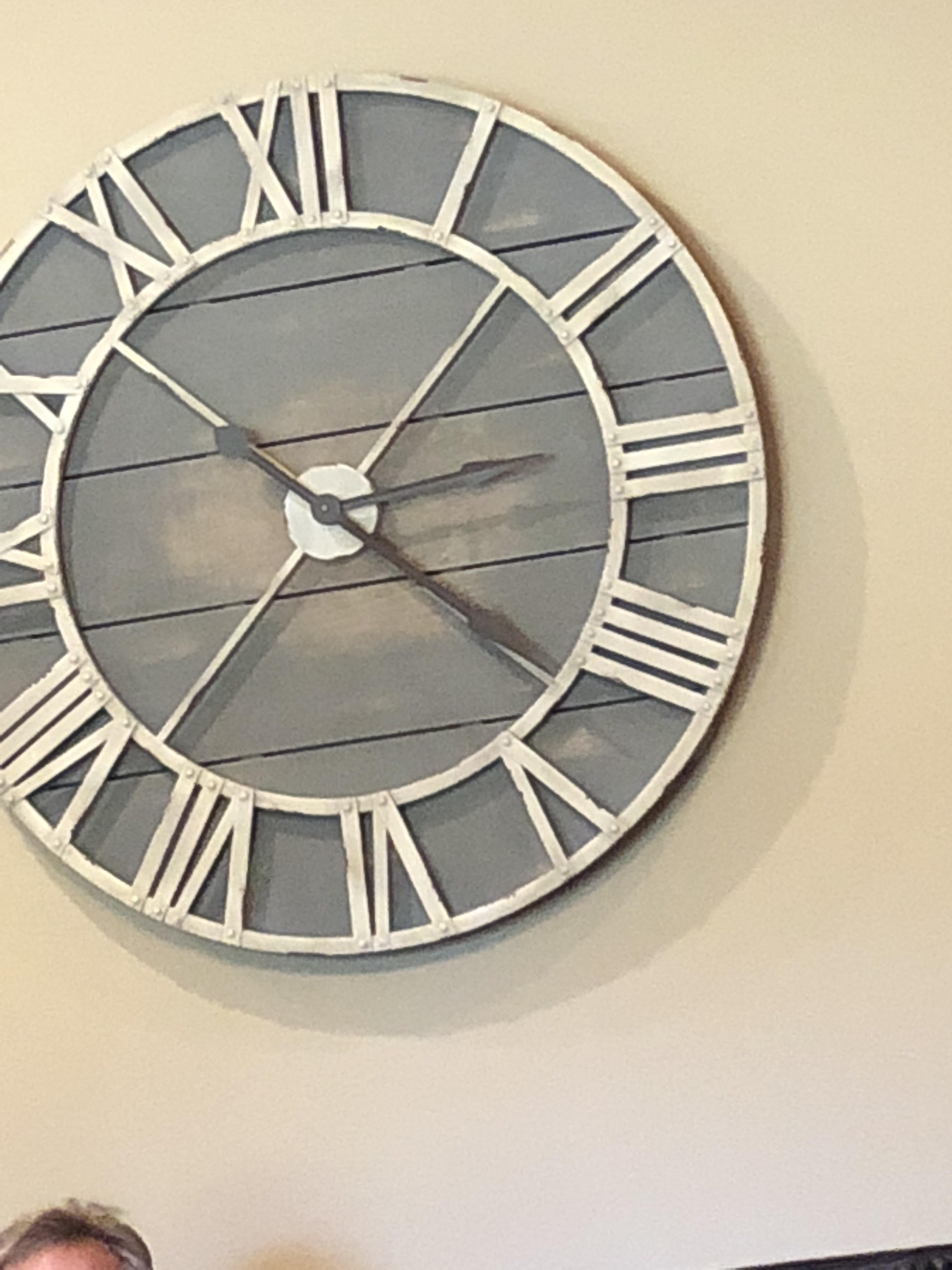 This 4 On My Clock Is Wrong In Roman Numerals Onejob