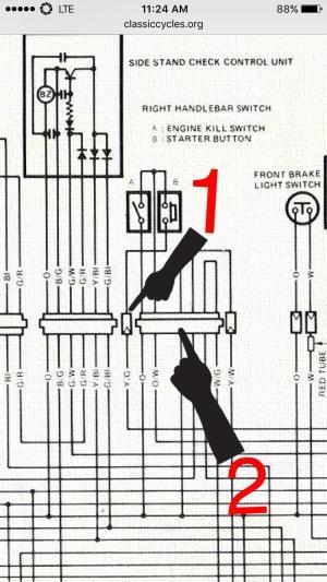 [Question] I'm rewiring my Suzuki GS 450 First time using