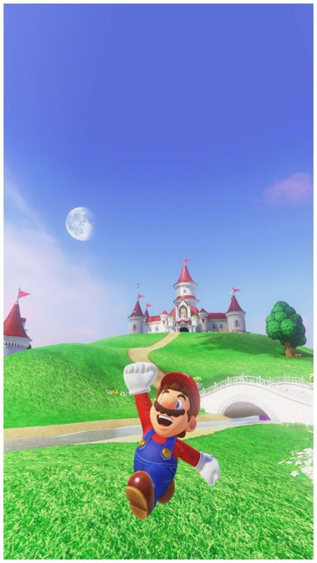 Share Your Super Mario Odyssey Phone Wallpapers Here S Mine Nintendo