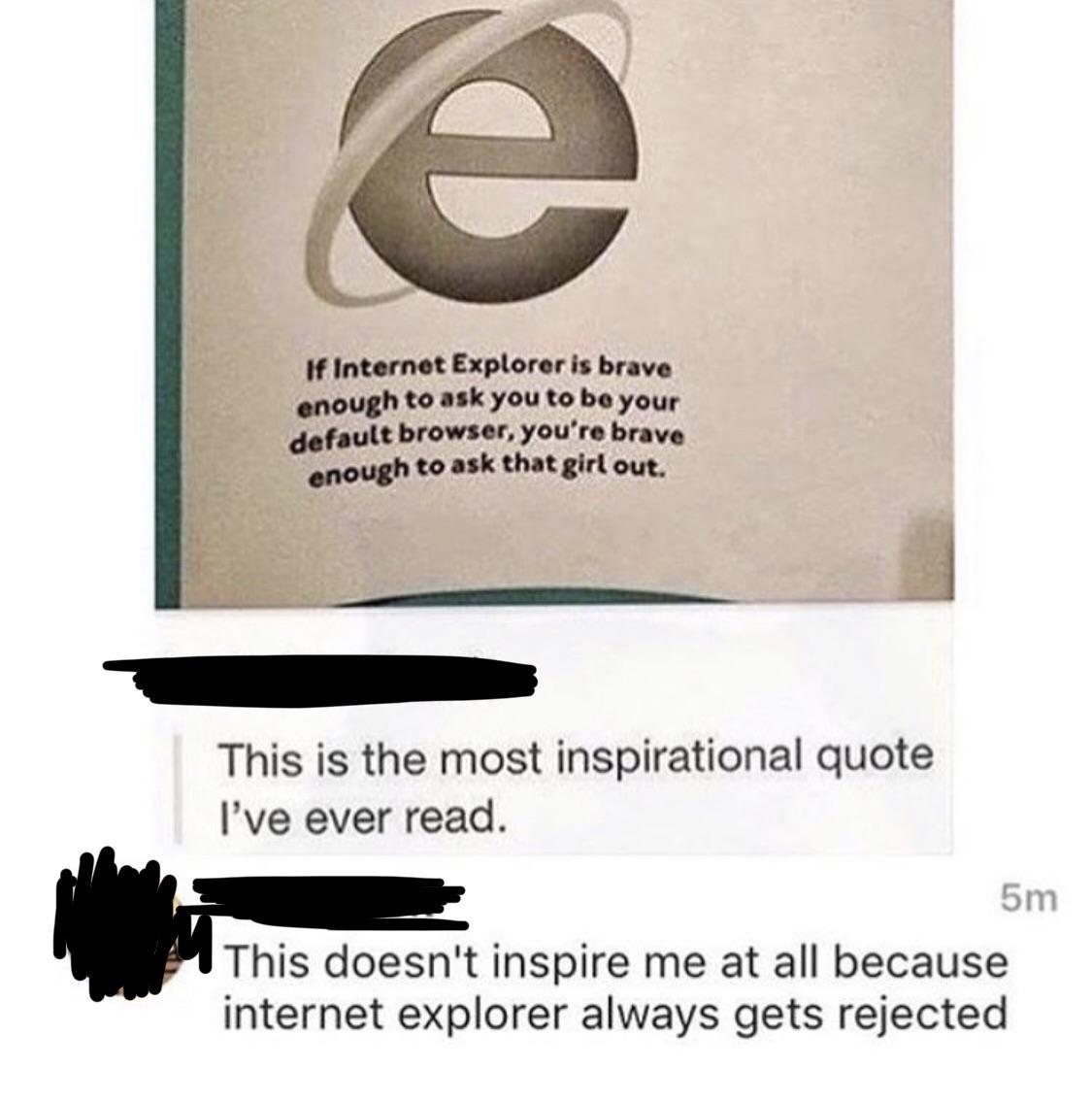 Internet Explorer Wants To Be Your Default Browser Memes