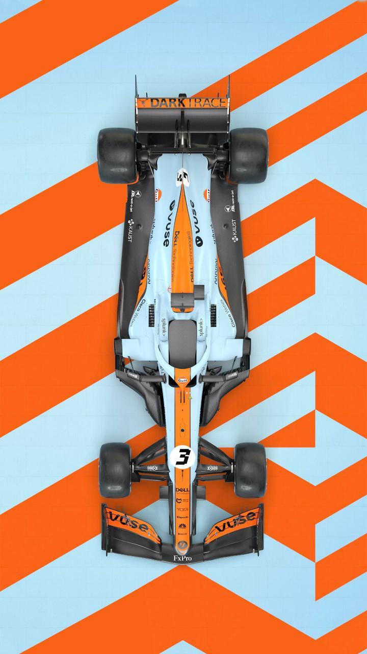 McLaren Gulf livery