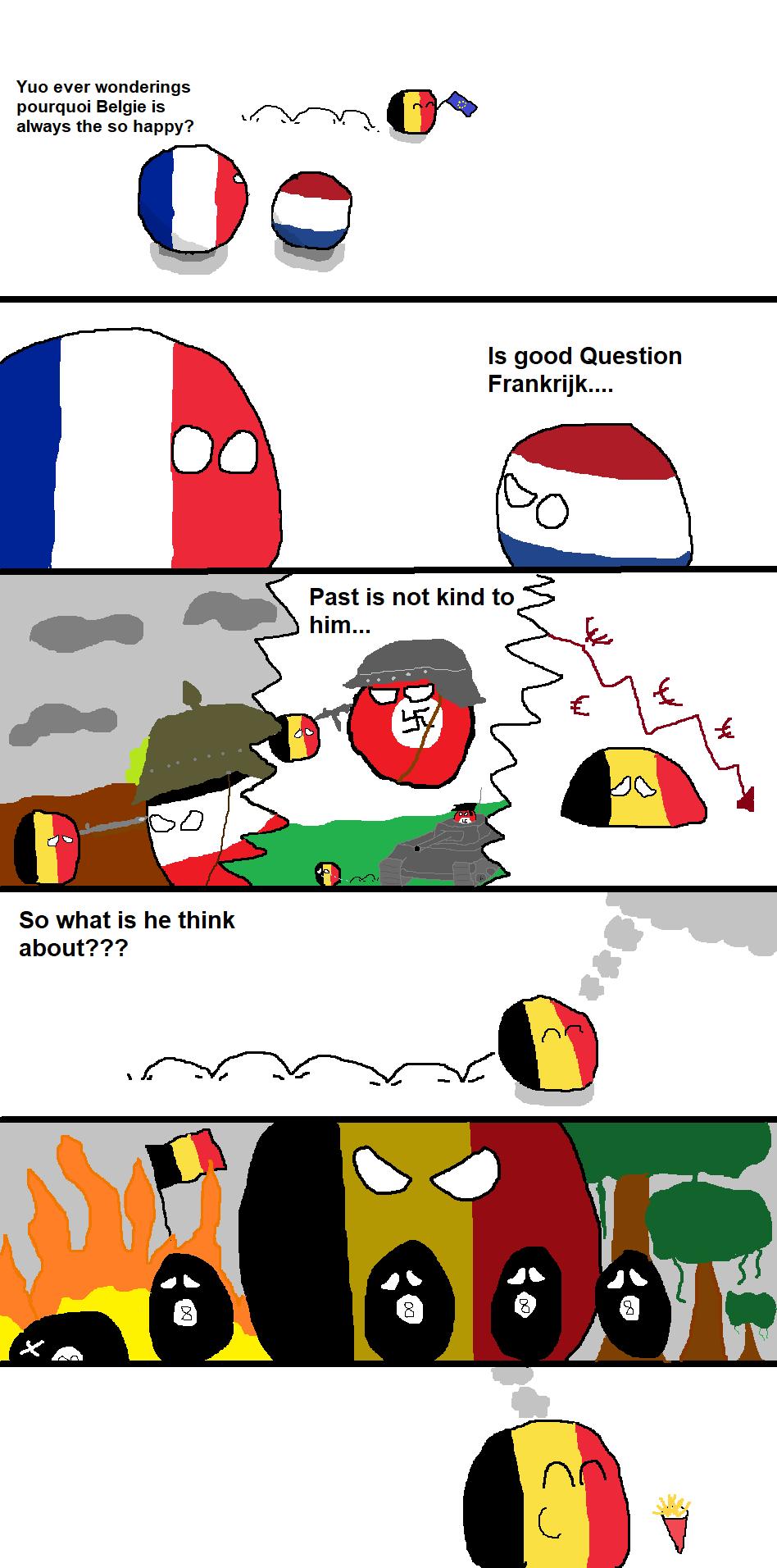 Countryballs Belgium In A Nutshell Youtube
