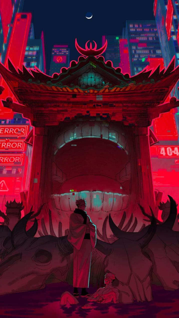 Malevolent Shrine [Jujutsu Kaisen] (1152×2048)