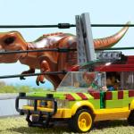I Made The Ford Explorer From Jurassic Park Lego
