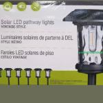 Costco Solar Lights Anyone Else Unhappy With These Mine Stay On For No More Than 2 Hours I Even Tried Swapping The Batteries With Better Solar Batteries Fully Charged But They Barley