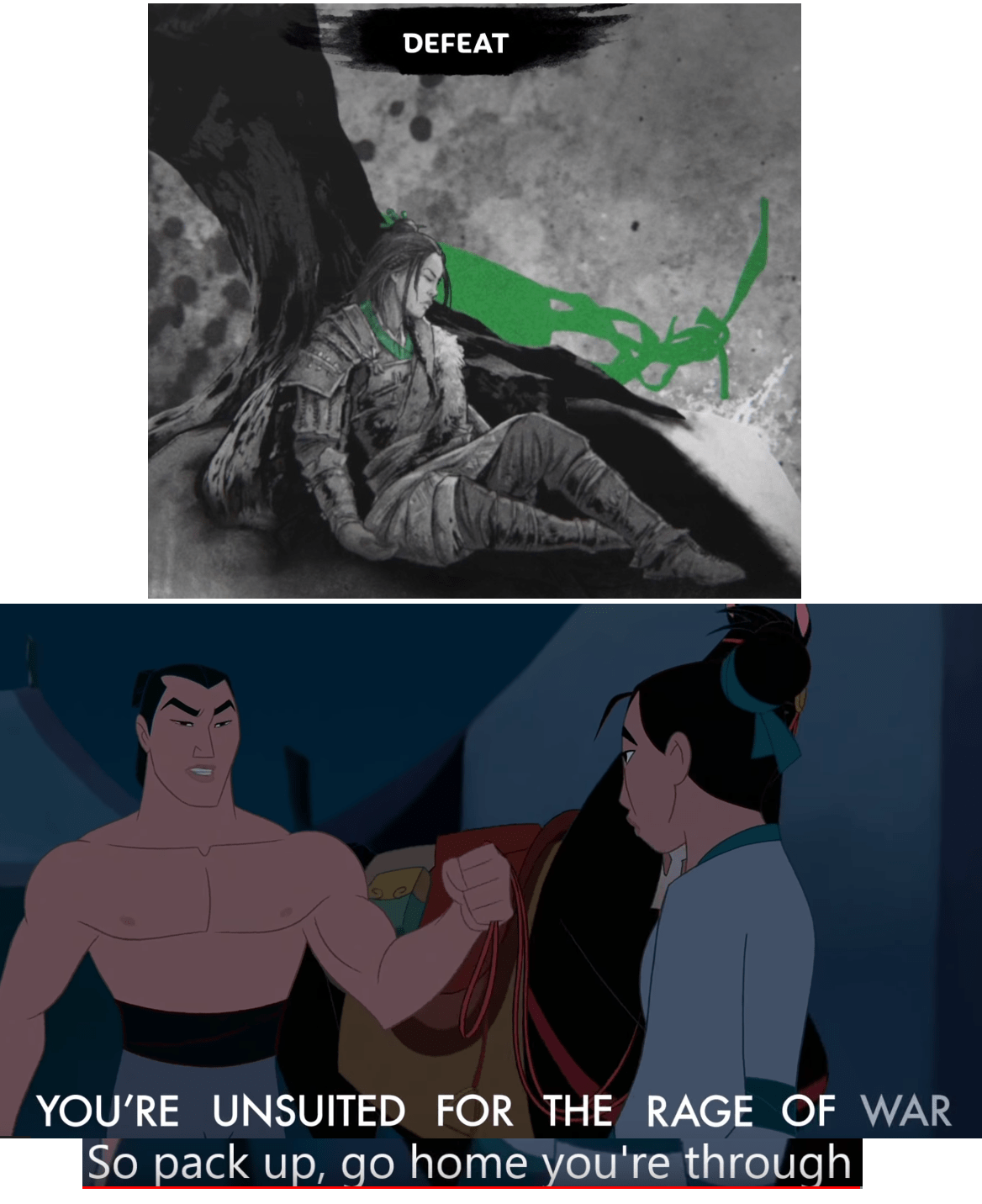 We Need More Mulan Memes In This Sub Totalwar