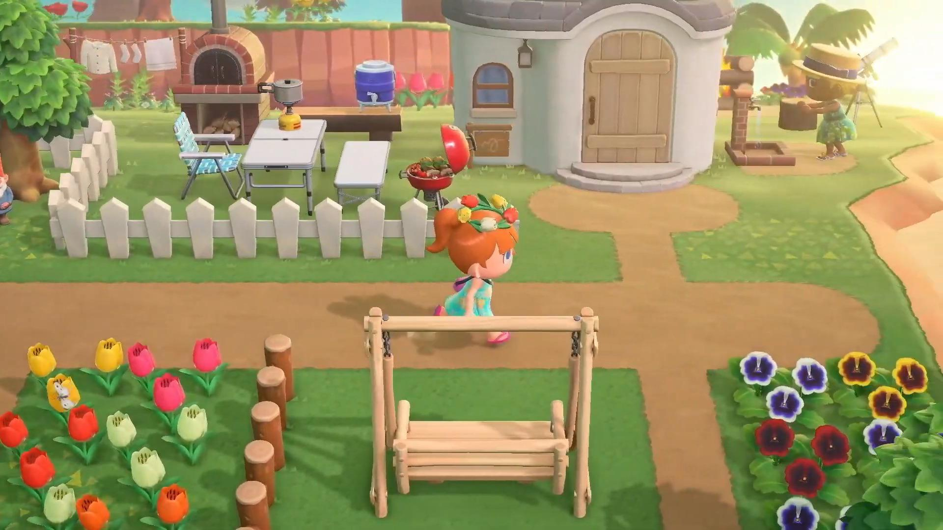 I Ve Seen White Fences In Promo Pictures But Never In Game Am I Missing Something Animalcrossing