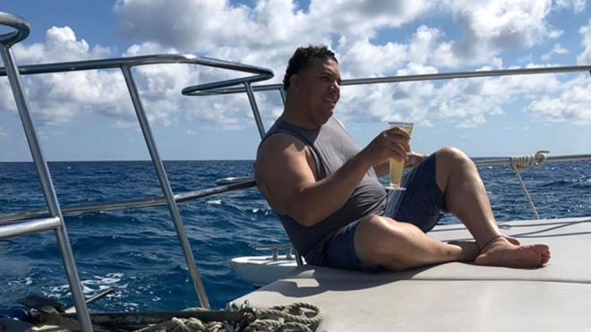 Image result for bartolo colon boat