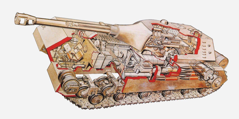 The Panzer VIII Maus