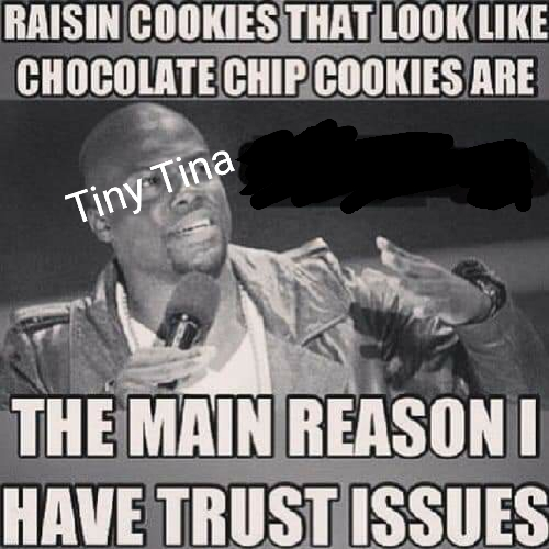 I Thought You Were Raisin But Now I Know Your Chocolate Chip I