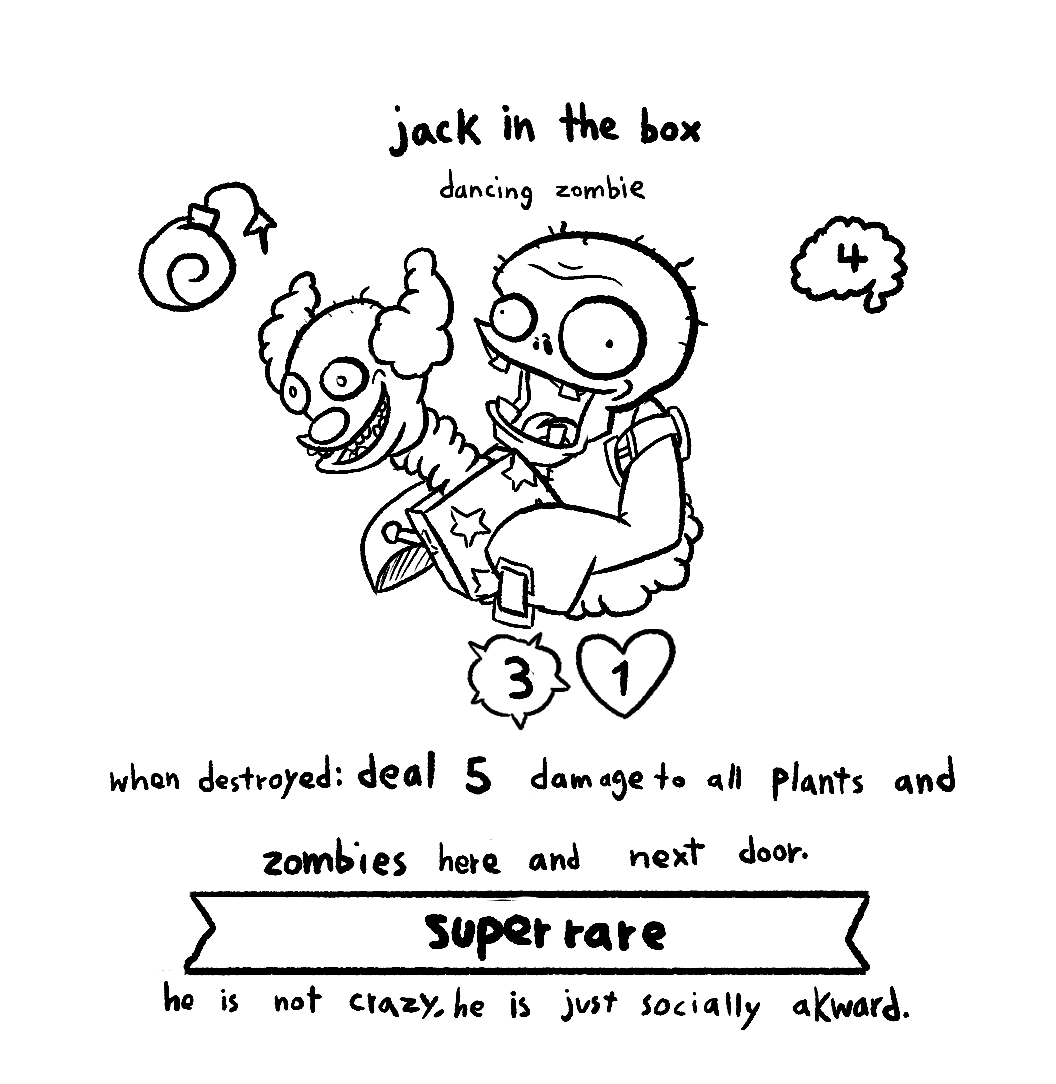 Jack In The Box Zombie Card Idea Pvzheroes
