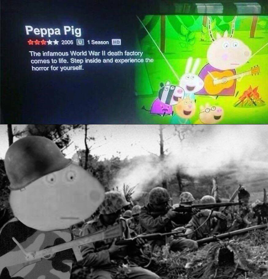 Peppa Pig Has Taken A More Mature Turn Of Late Casualuk