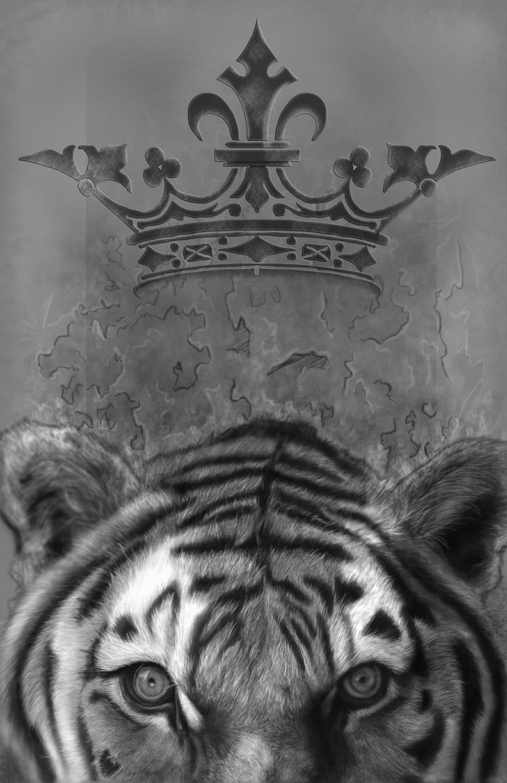 Tiger Paintings Crown