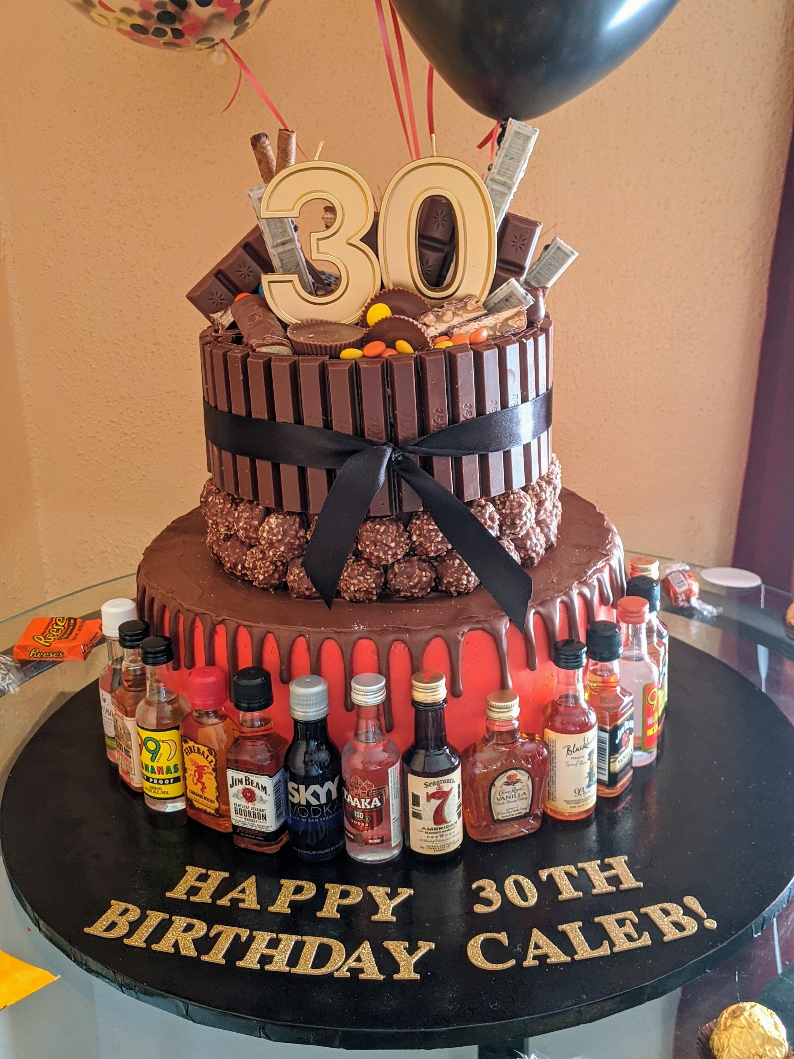 Made My Husband S 30th Birthday Cake Baking