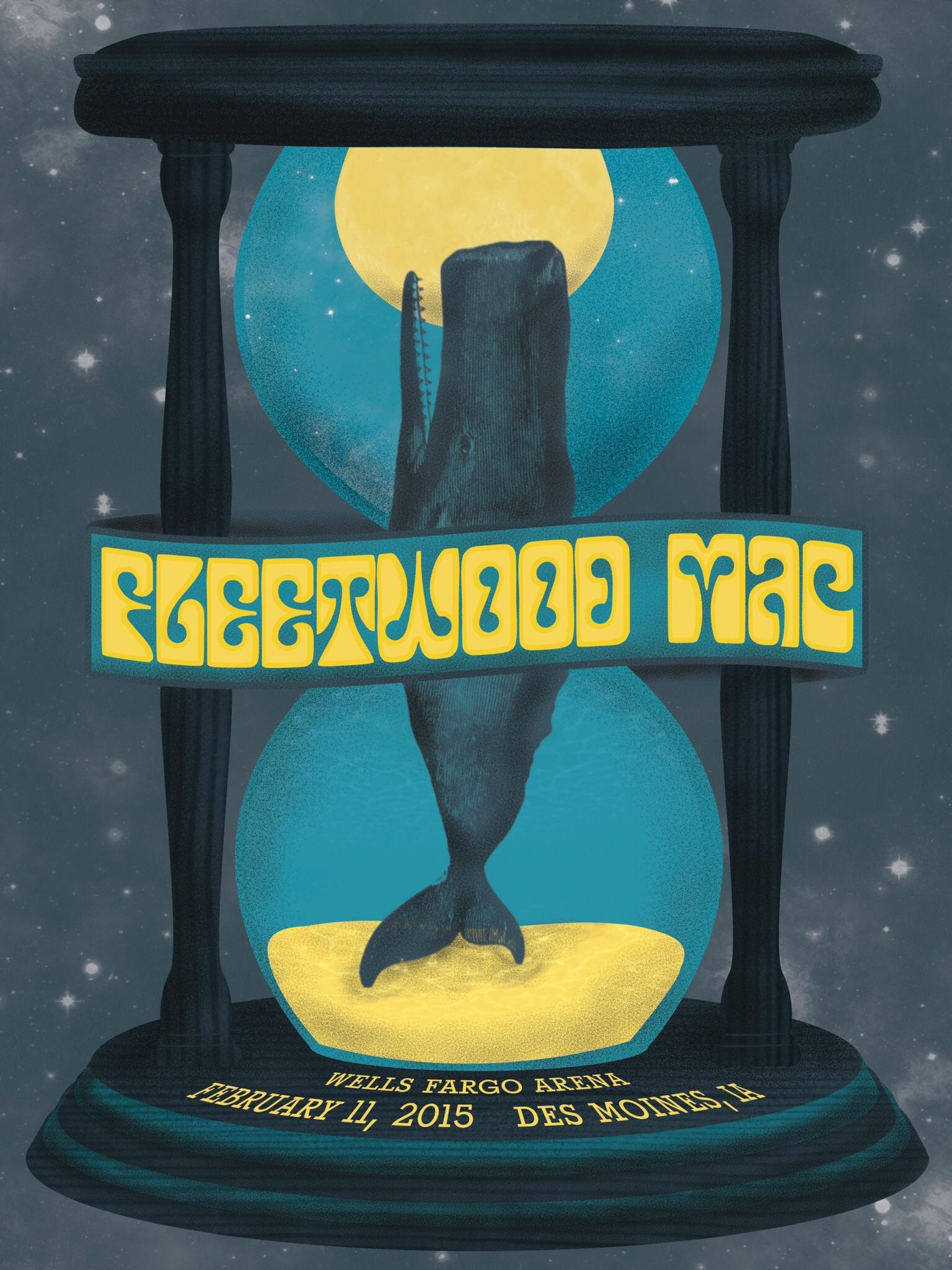 here s a fleetwood mac poster i