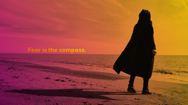 Fear is the compass. [2560 x 1440]