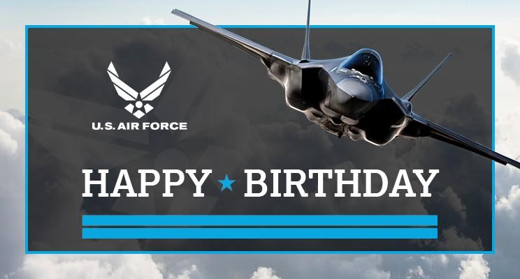 Happy Birthday Usaf Airforce