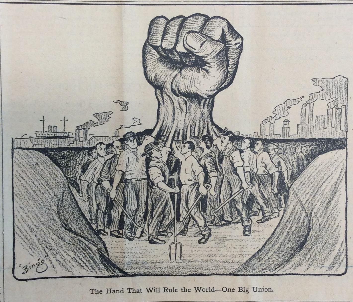 The Hand That Will Rule The World Industrial Workers Of