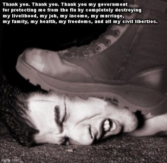 If you want a vision of the future, imagine a boot stamping on a human face - forever. George Orwell : CoronavirusMemes