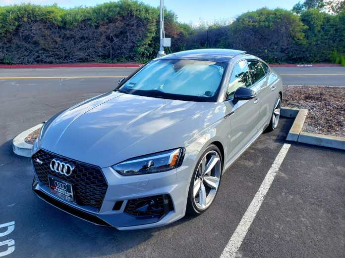 Just Upgraded From A Q5 2019 Rs5 Sportback In Nardo Gray Audi