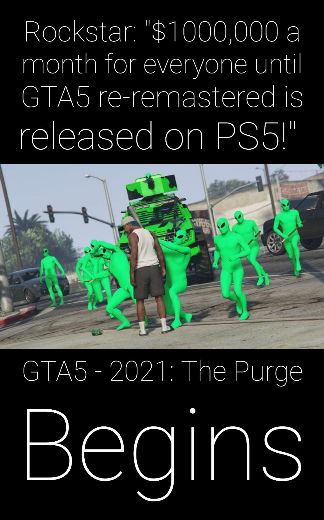 Grand Theft Auto 5 On Ps3 Was Unplayable Upon The Playstation 4