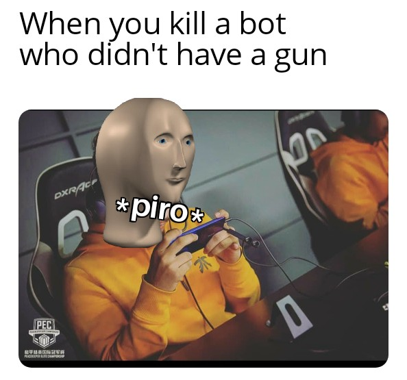 Fnatic Scout Meme Man Pubgmobile