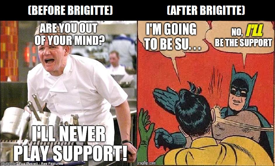 Love These New Brigitte Skins Overmeme Overwatch Memes