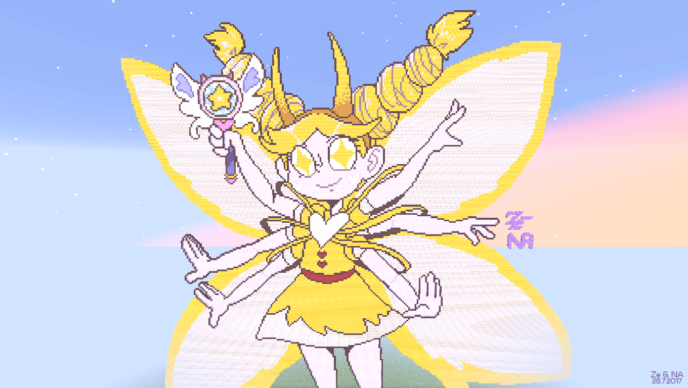 Svtfoe Form Star Butterfly