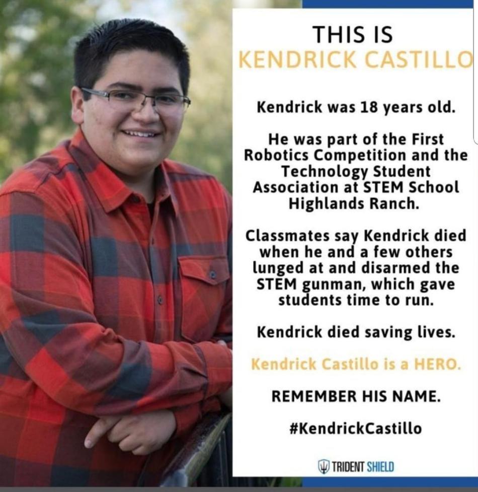 Image result for Kendrick Castillo