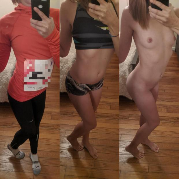 h53wjnstmox31 - A little half marathon on/off 🏃♀️ Nude Selfie