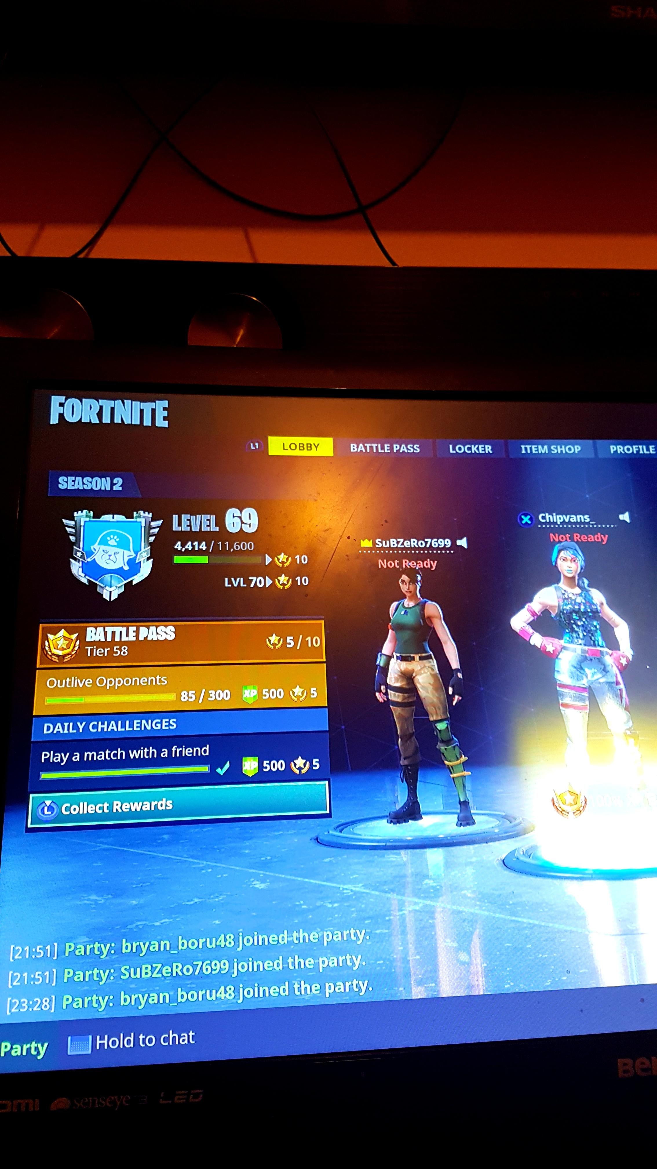 Play A Match With A Friend Fortnite Not Working