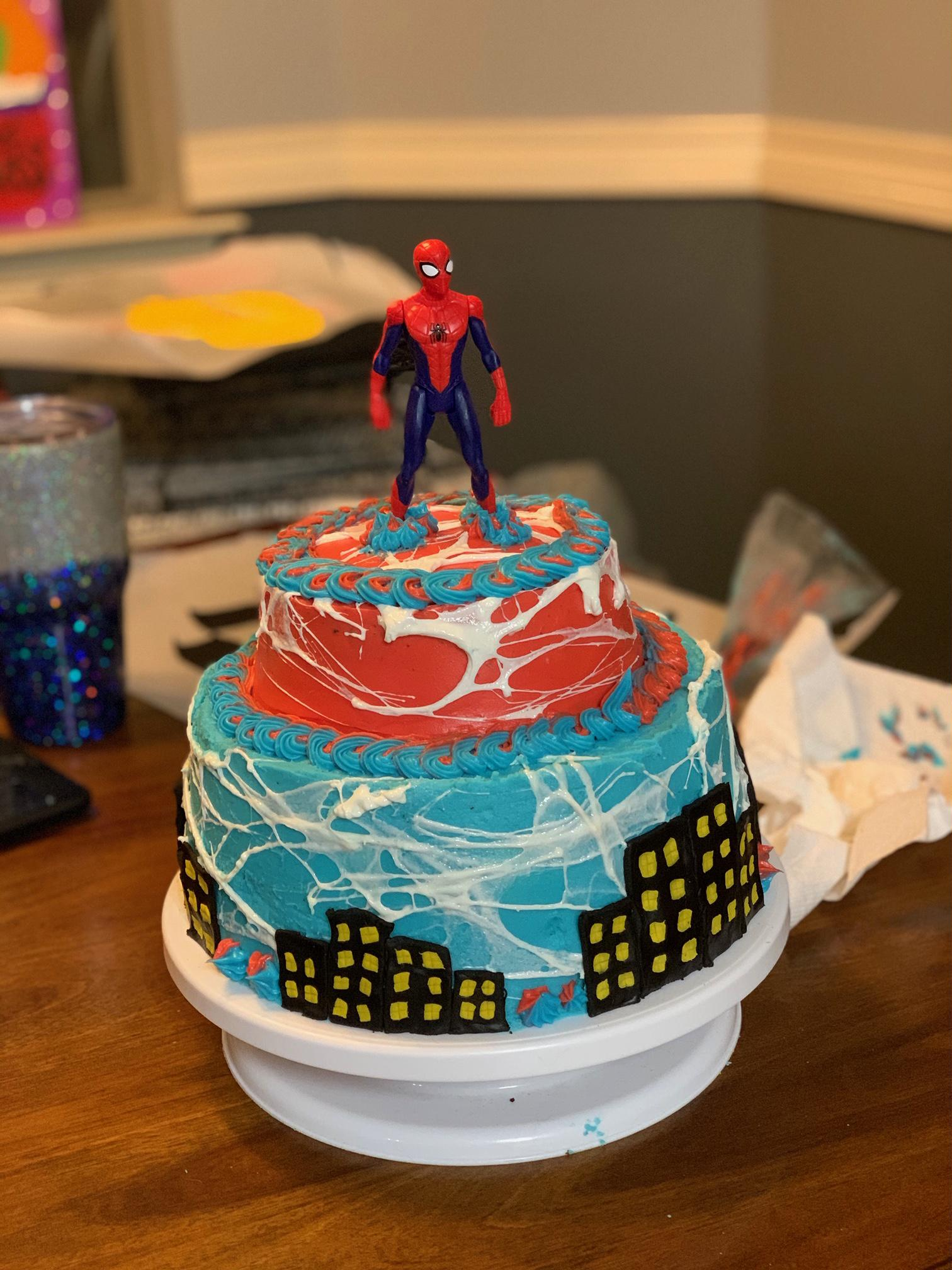 14 Year Old Made Her Brothers Birthday Cake Cakedecorating