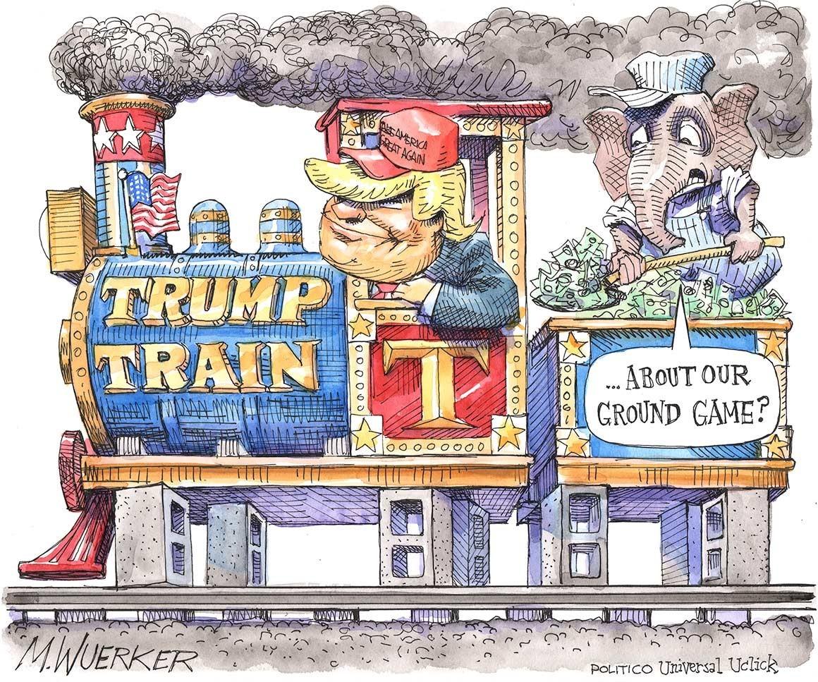 The Trump Train Has No Wheels Enoughtrumpspam