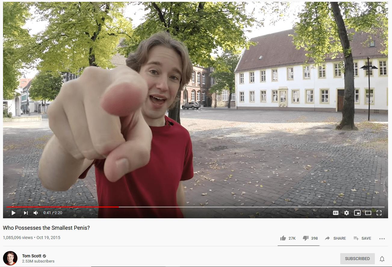 New Tom Scott Video Was Weird Meme