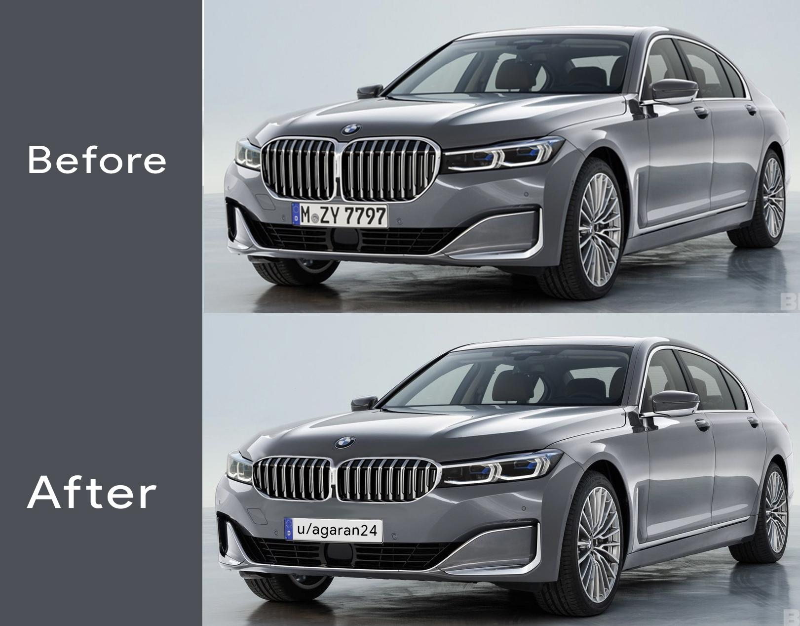 Bmw Defends 7 Series Grille Www Carsales Com Au