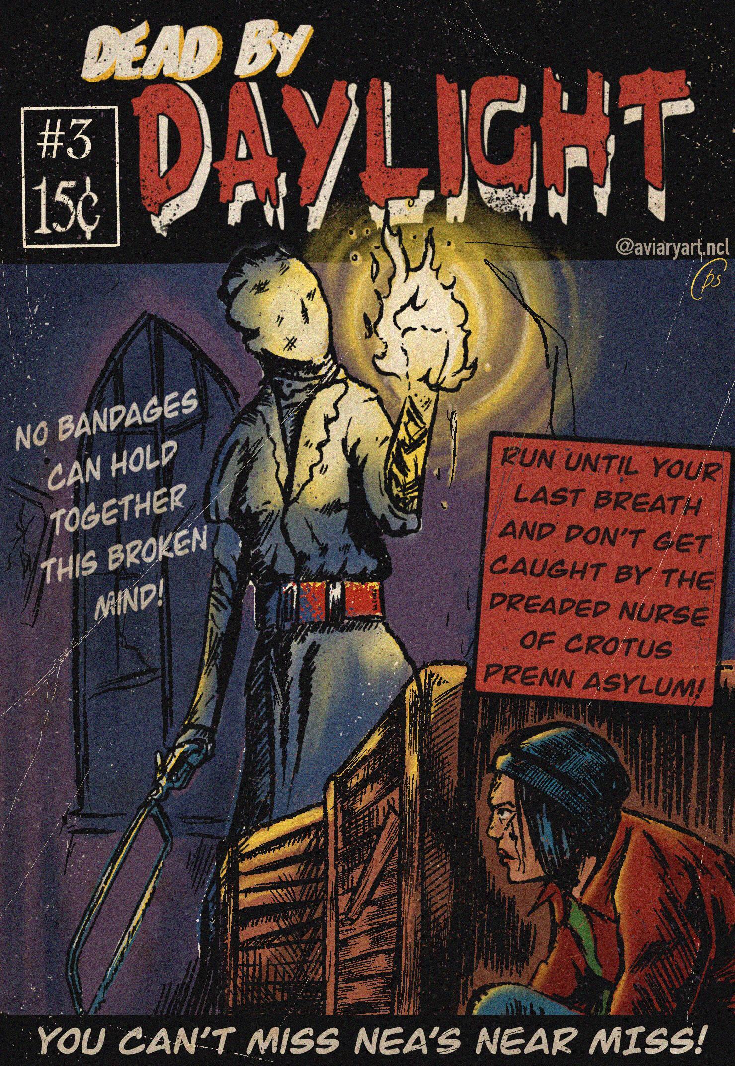 retro comic cover art 3 the nurse