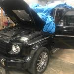 Does Anyone Know Where The Battery Of This Mercedes Benz G Class 2019 Is I Need To Disconnect It Mercedes Benz