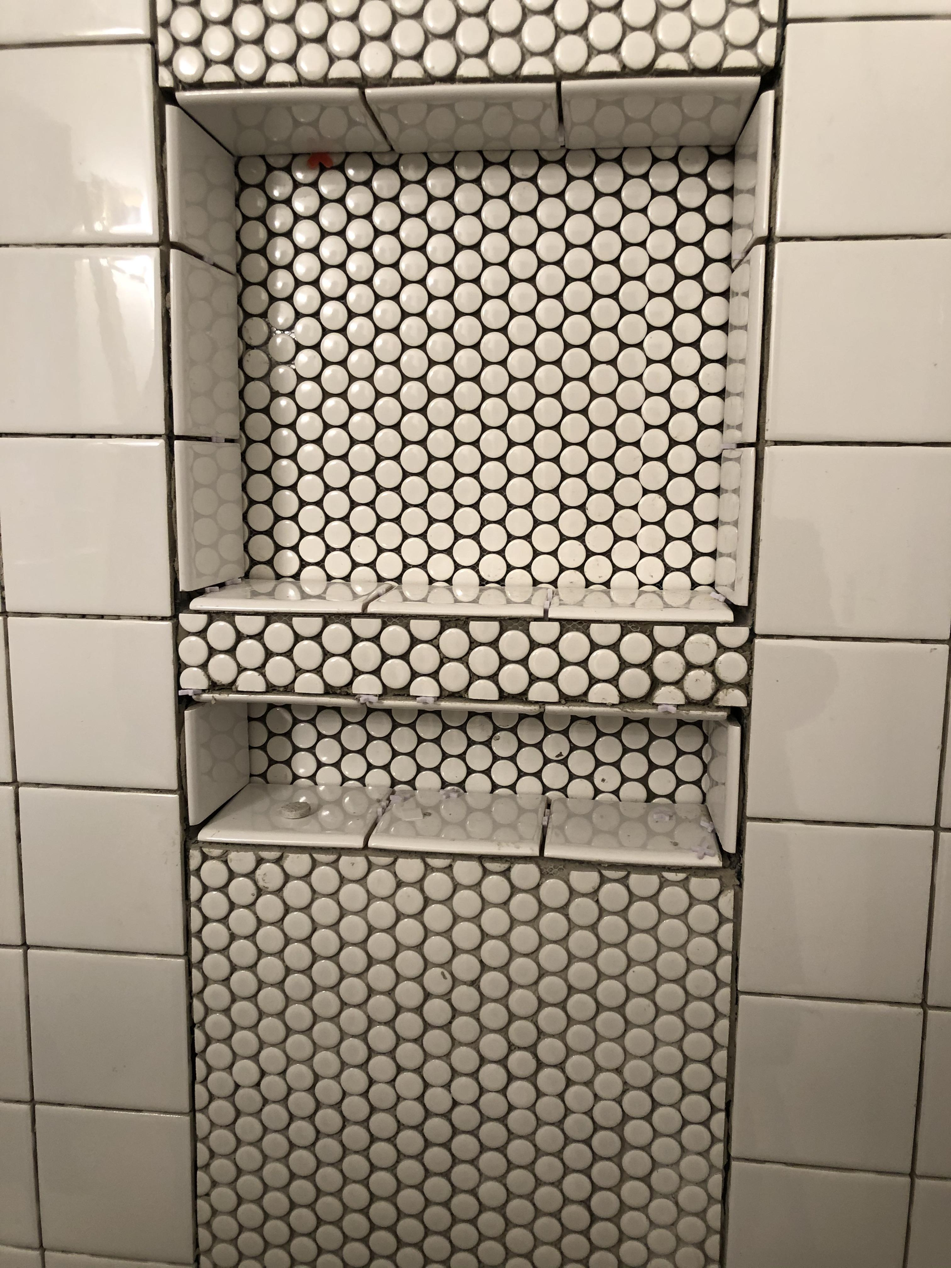 can grout fill these large voids in the