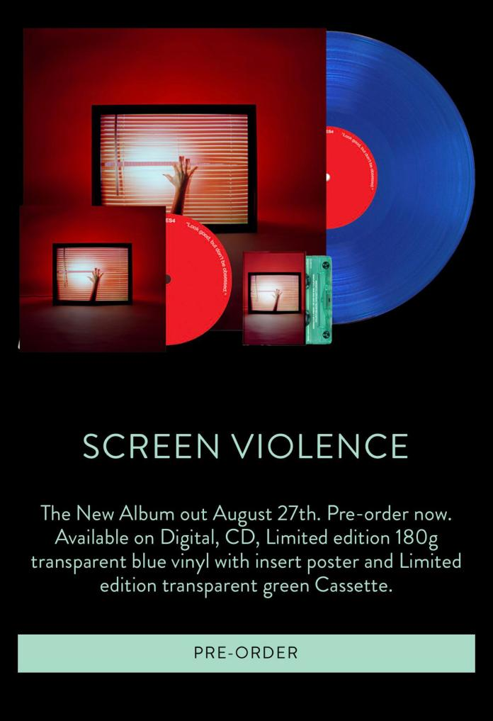 Screen Violence is available for pre-order: chvrches