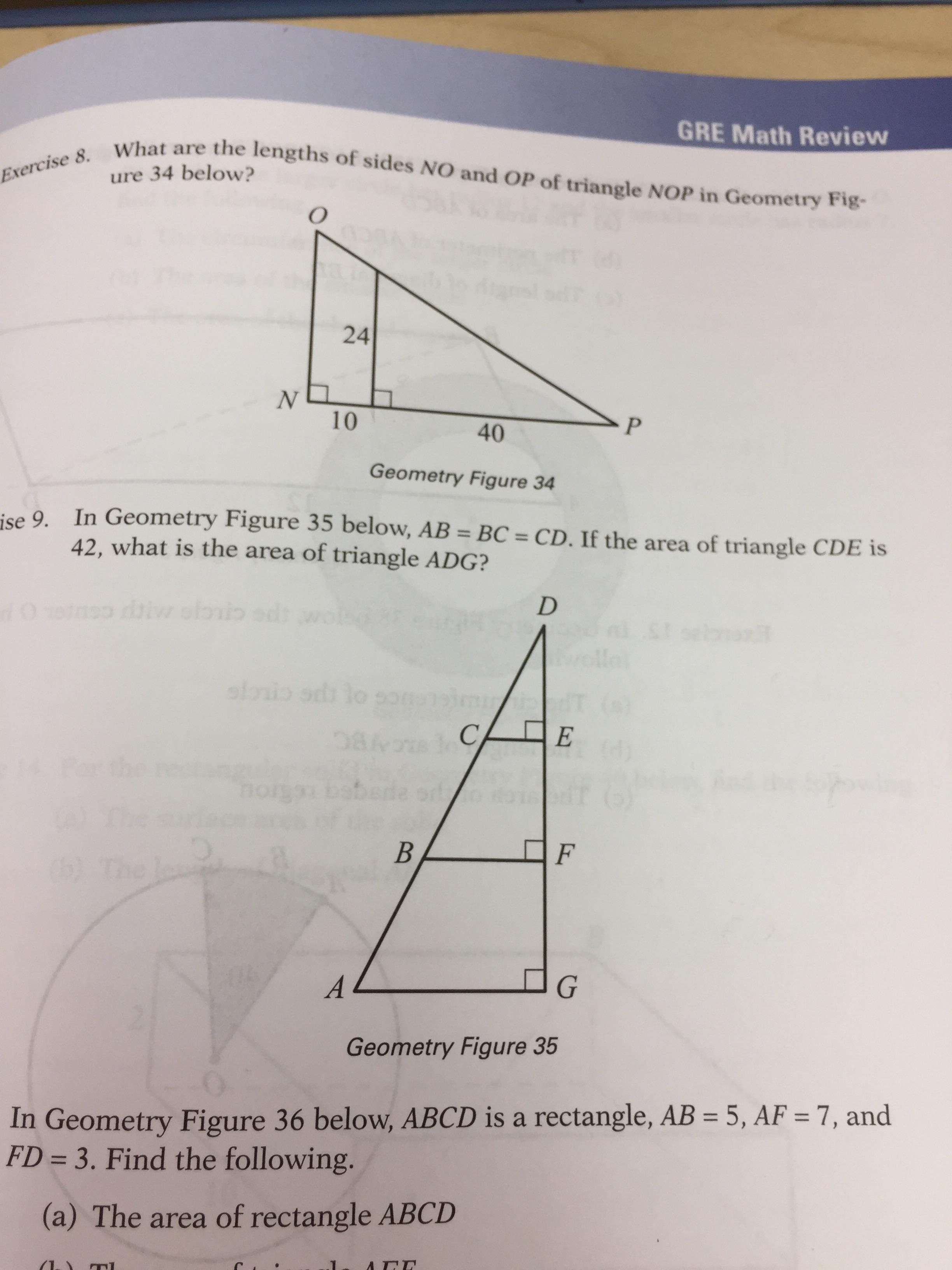 How On Earth Do You Find The Area Of A Triangle Given Only