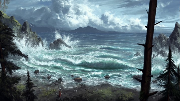 The Coast by Max Suleimanov. [1920×1080]