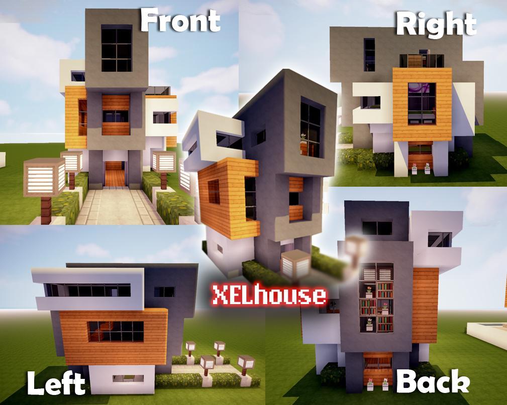 Modern House Tutorial : Minecraft