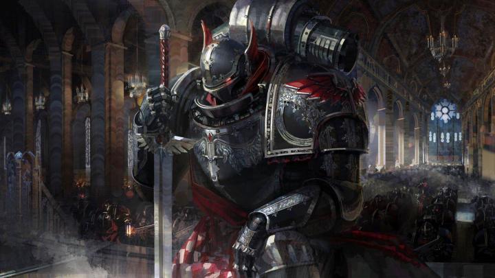 kneeling Knight [1920×1080]