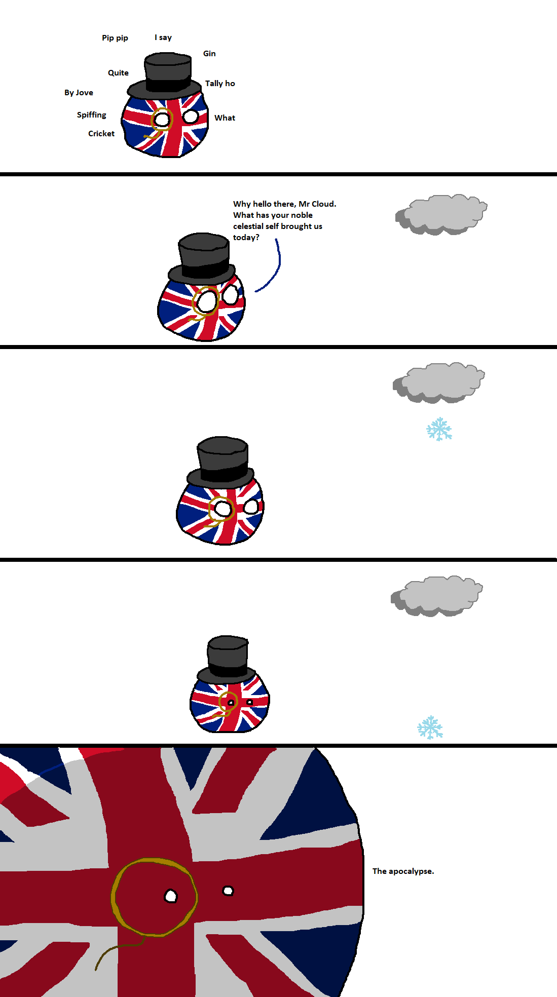 The Uk Leaves The Eu Country Balls