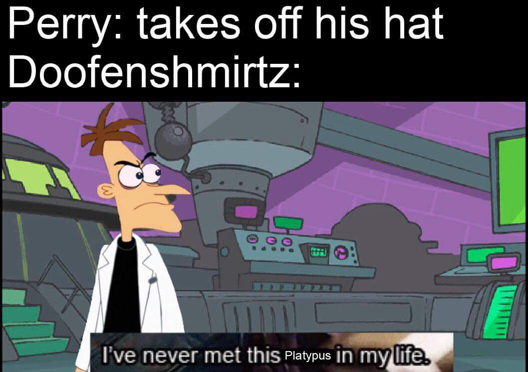 Perry The Platypus Meme