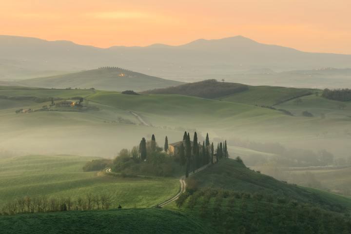 Tuscany, Italy (Photo credit to Engjell Gjepali) [4407 x 2938]