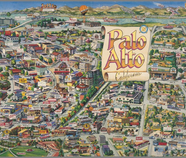 Palo Alto California Usa 1989