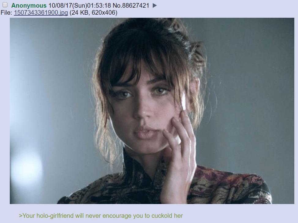 Tv Blade Runner 2049 Thread No Memes Television Film 4chan